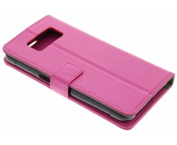 Roze TPU Bookcase Samsung Galaxy S8 Active