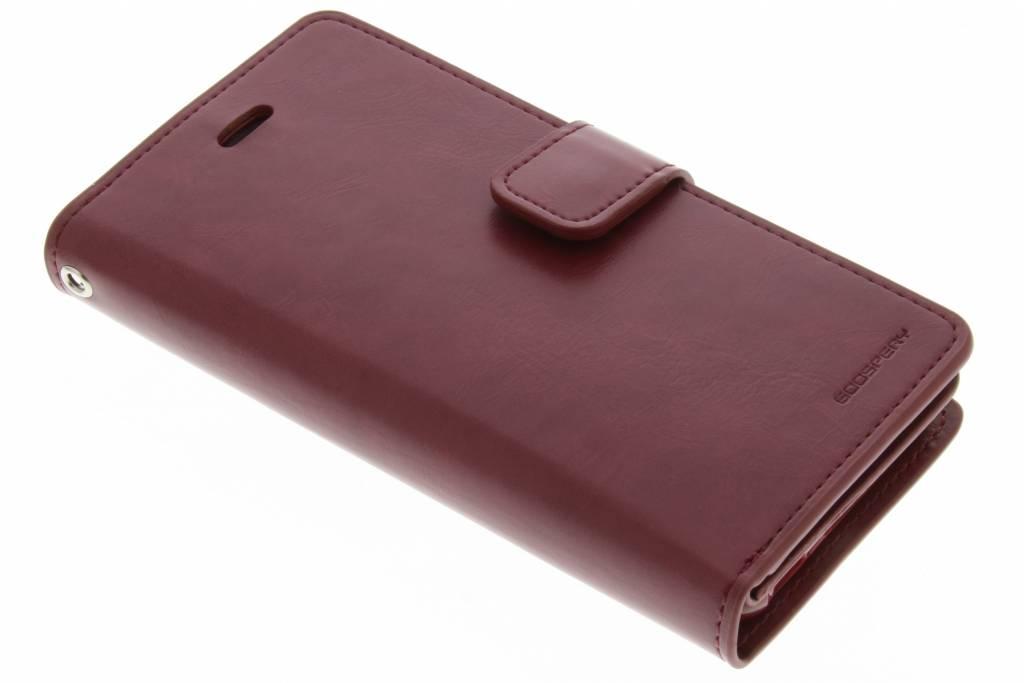 Mansoor Wallet Diary Case voor de iPhone 6 / 6s - Kastanjebruin