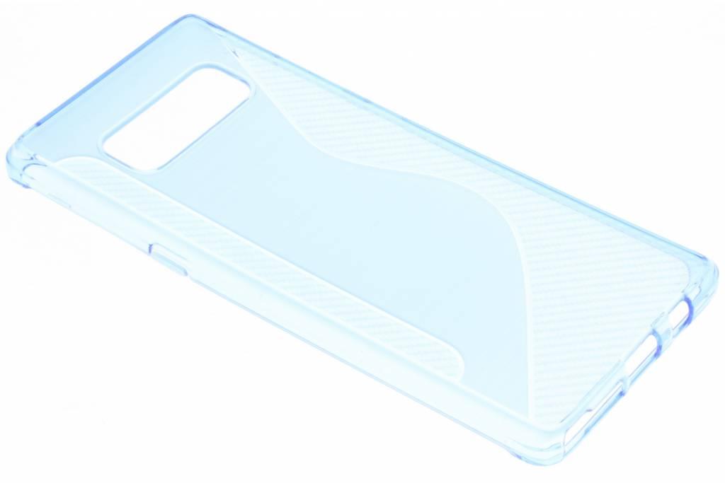 Blauw S-line TPU hoesje voor de Samsung Galaxy Note 8