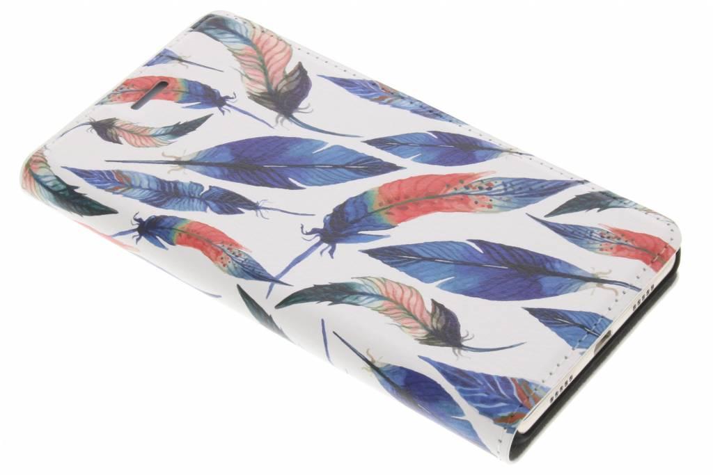 Ibiza Feathers Design Booklet voor de Huawei P8 Lite