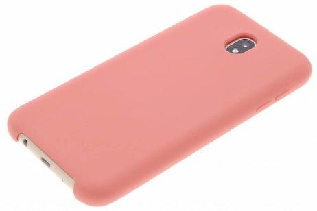 Cas Rose En Silicone Pour Samsung Galaxy J7 (2017) FDj8Qh7ff