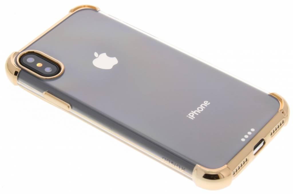 Gouden 360° Armor TPU Case voor de iPhone X