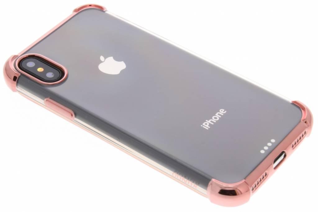 Rosé Gouden 360° Armor TPU Case voor de iPhone Xs / X