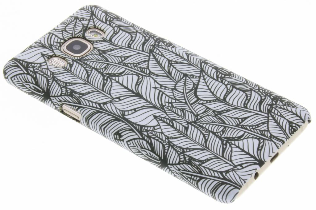 Feathers design hardcase hoesje voor de Samsung Galaxy J5 (2016)