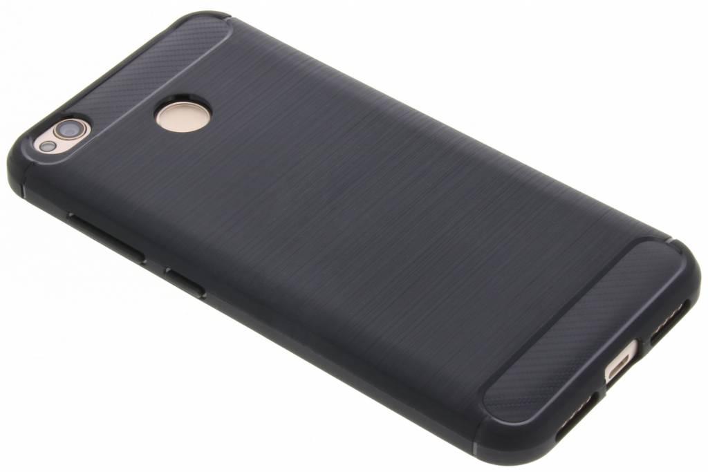 Zwarte Brushed TPU case voor de Xiaomi Redmi 4X