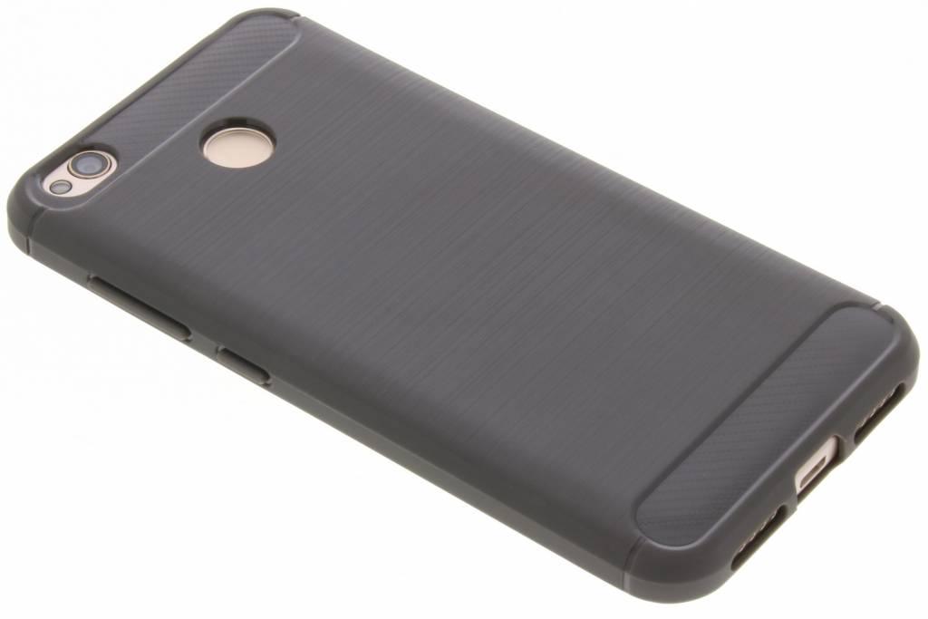 Grijze Brushed TPU case voor de Xiaomi Redmi 4X