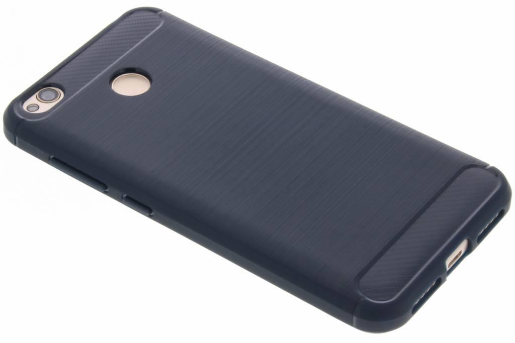 Donkerblauwe Brushed TPU case voor de Xiaomi Redmi 4X