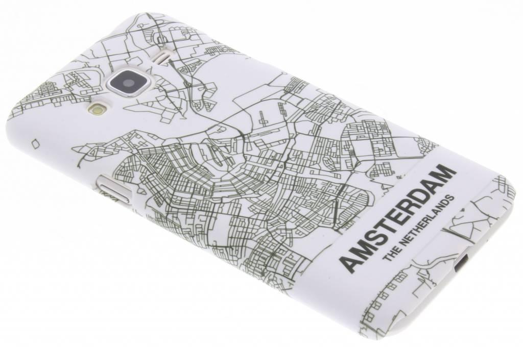 Amsterdam design hardcase hoesje voor de Samsung Galaxy J3 / J3 (2016)