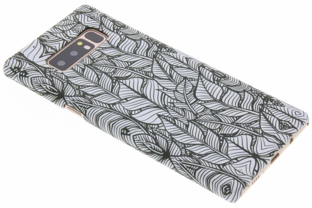 Feathers design hardcase hoesje voor de Samsung Galaxy Note 8