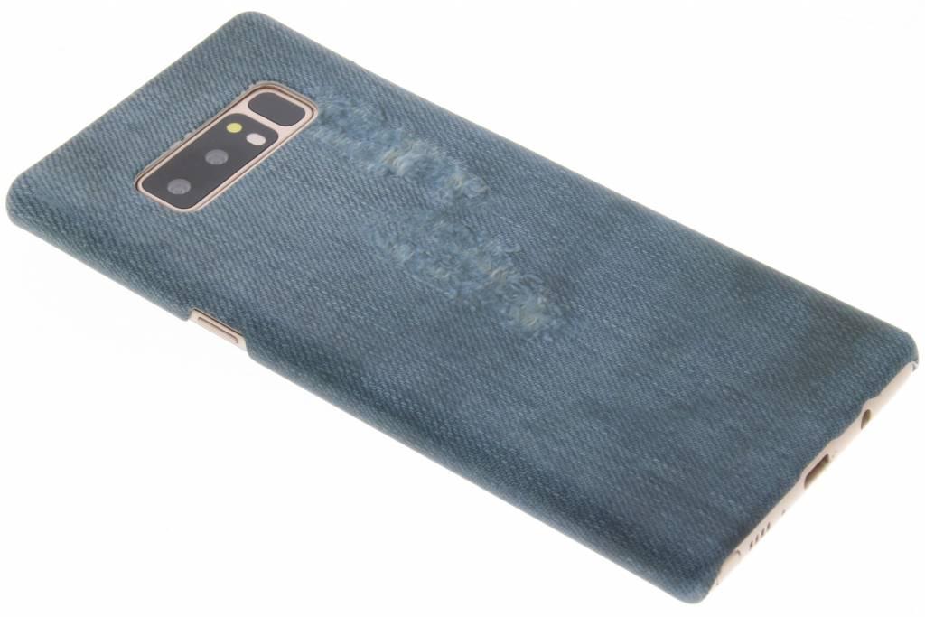 Jeans design hardcase hoesje voor de Samsung Galaxy Note 8