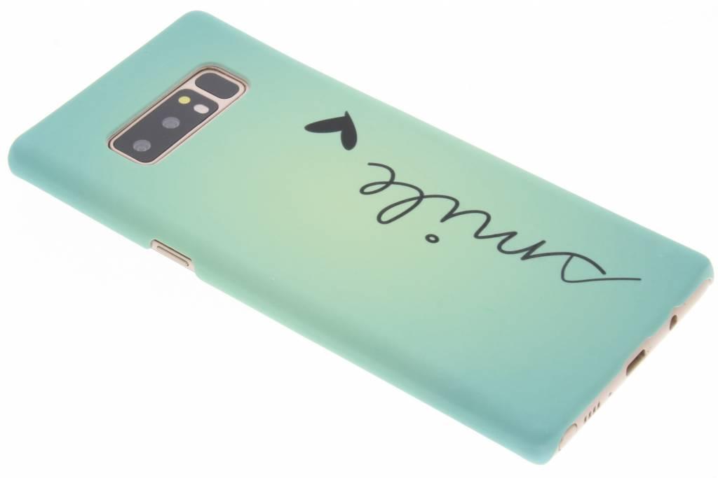 Smile design hardcase hoesje voor de Samsung Galaxy Note 8