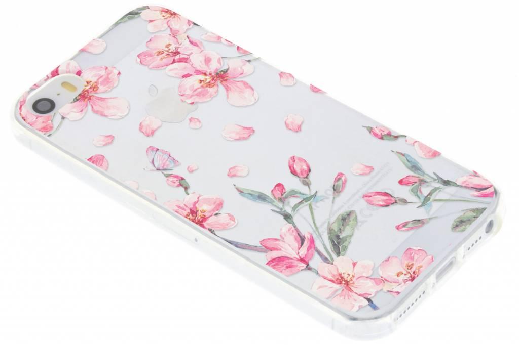 Bloesem Watercolor TPU hoesje voor de iPhone 5 / 5s
