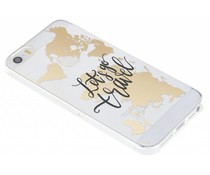 Quote Design TPU hoesje iPhone 5 / 5s / SE