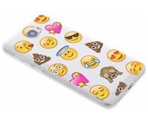 Emoji design TPU hoesje Huawei Y5 2 / Y6 2 Compact