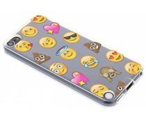Emoji design TPU hoesje iPod 5g / 6
