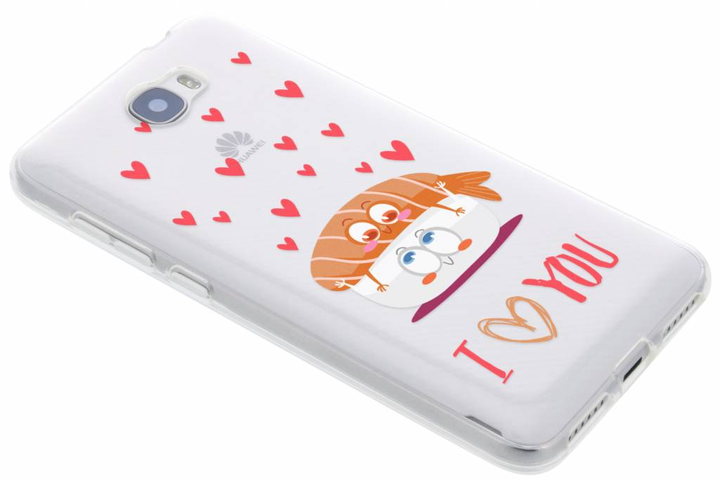 Sushi I Love You Friends TPU hoesje voor de Huawei Y5 2 / Y6 2 Compact