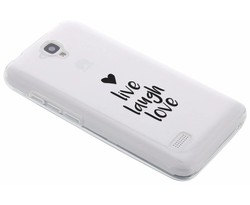Quote design TPU siliconen hoesje Huawei Y5