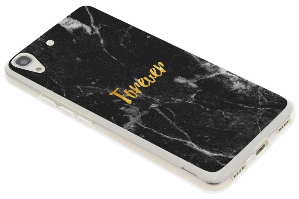 BFF Black Marble Love TPU hoesje voor de Huawei Y6