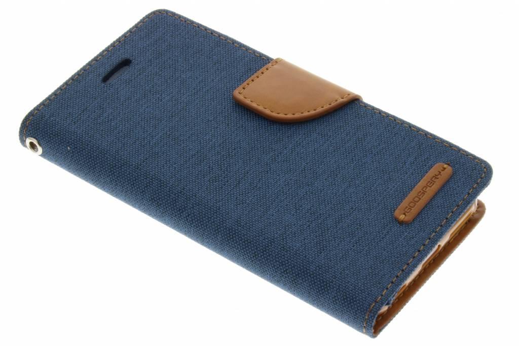 Canvas Diary Case voor de iPhone 6 / 6s - Blauw