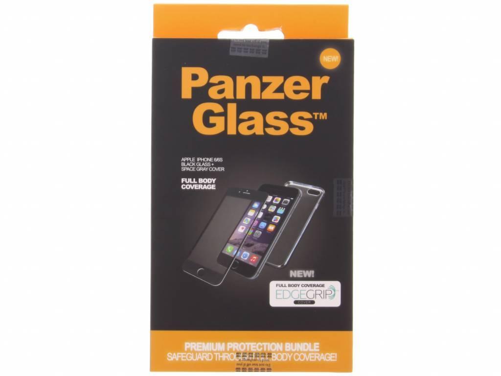 Full Body Premium Screenprotector voor de iPhone 6 / 6s - Black / Space Gray
