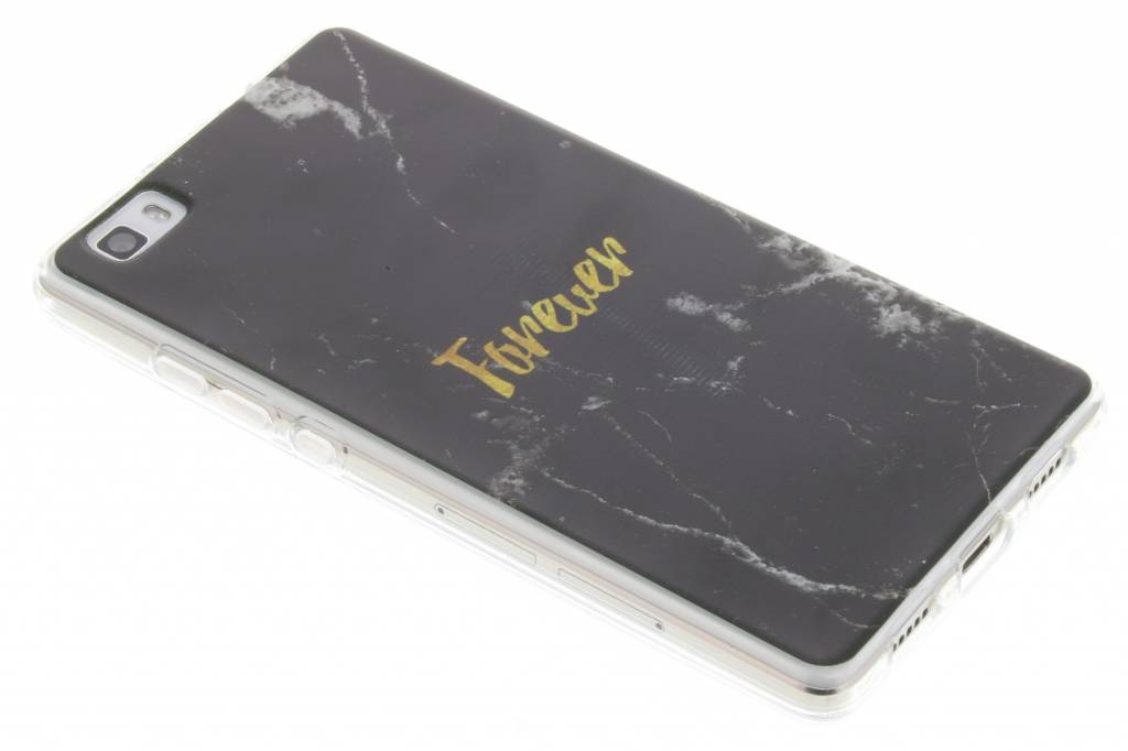 BFF Black Marble Love TPU hoesje voor de Huawei P8 Lite