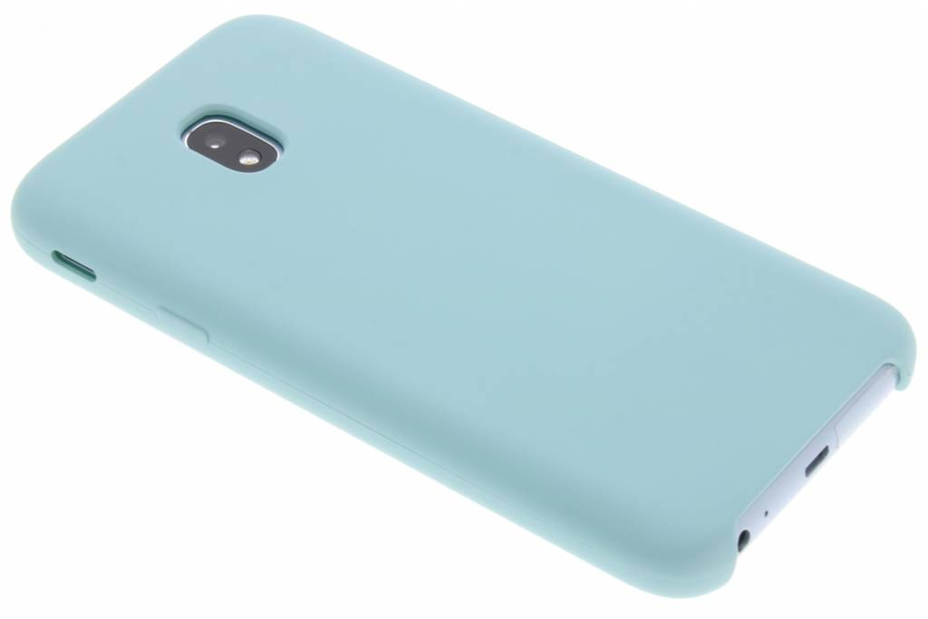 Blauwe siliconen hoes voor de Samsung Galaxy J3 (2017)