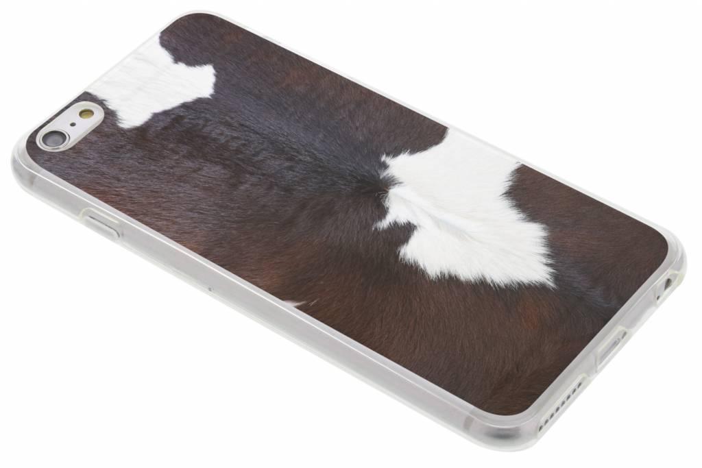 Koe dieren design TPU hoesje voor de iPhone 6(s) Plus