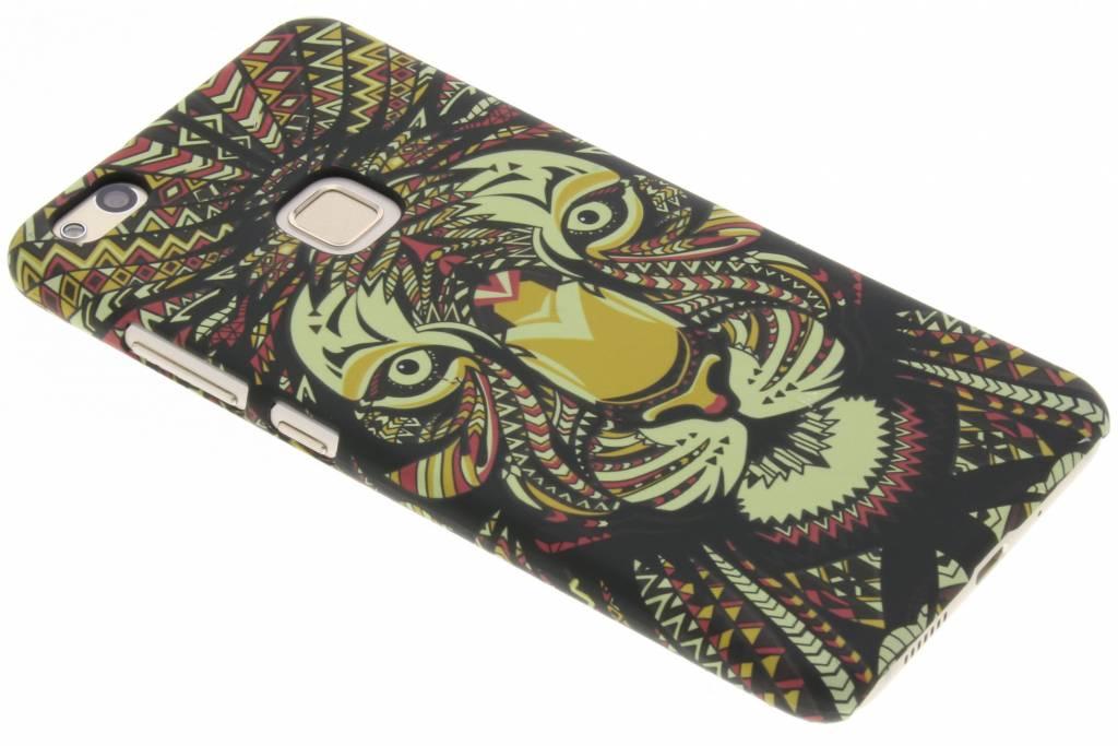 Tijger aztec animal design hardcase hoesje voor de Huawei P10 Lite
