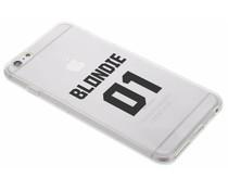 Blondie TPU hoesje iPhone 6(s) Plus