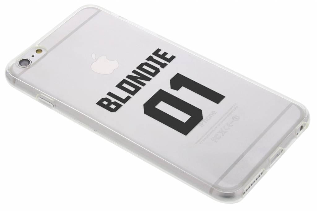 BFF Blondie Love TPU hoesje voor de iPhone 6(s) Plus