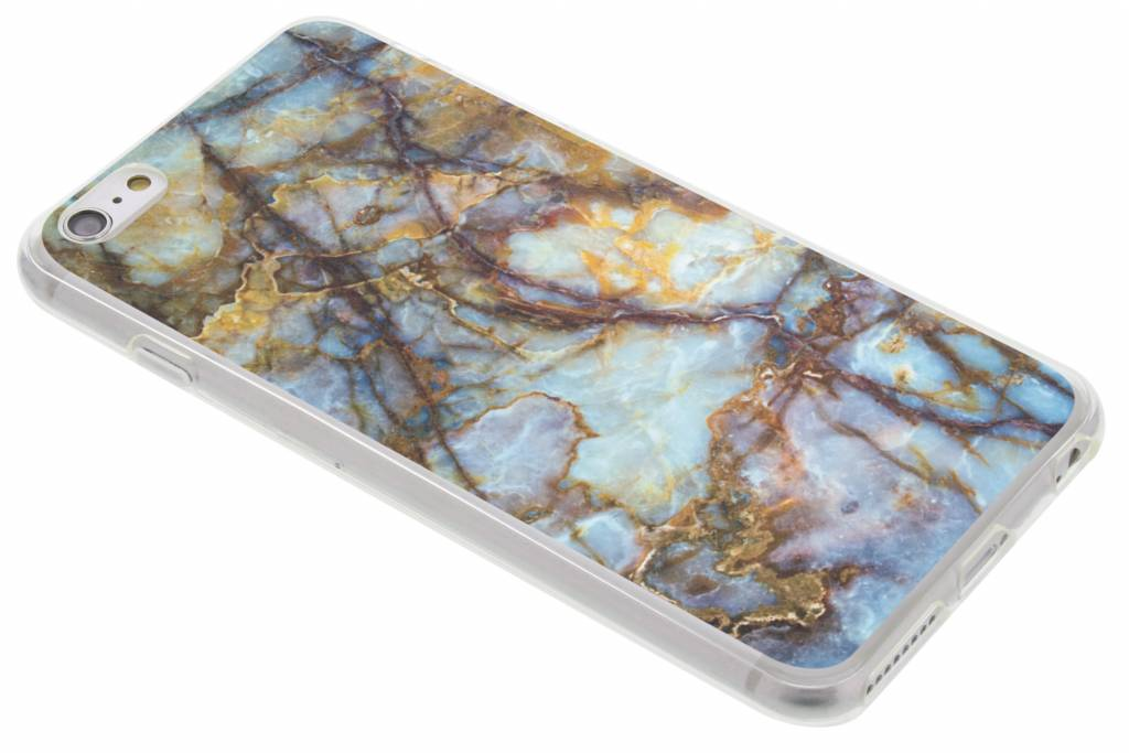 Marmer design TPU siliconen hoesje voor de iPhone 6(s) Plus