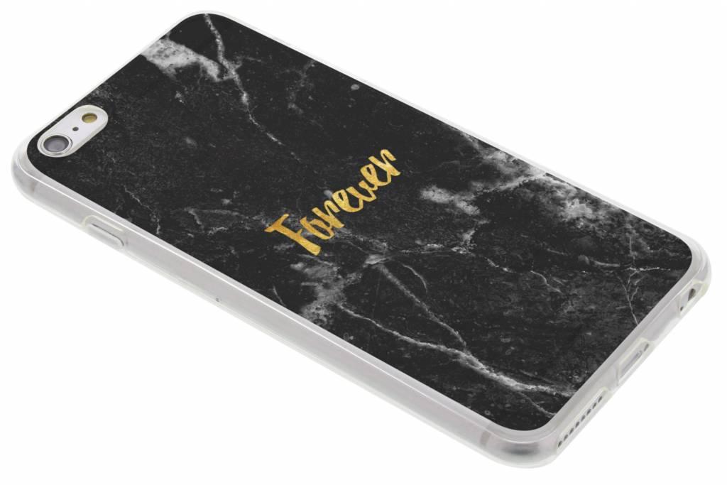 BFF Black Marble Love TPU hoesje voor de iPhone 6(s) Plus
