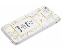 Quote Badass TPU hoesje iPhone 6(s) Plus