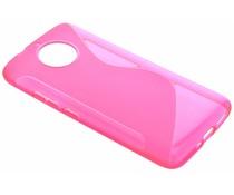 Roze S-line TPU hoesje Motorola Moto G5S