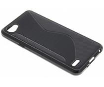 Zwart S-line TPU hoesje LG Q6