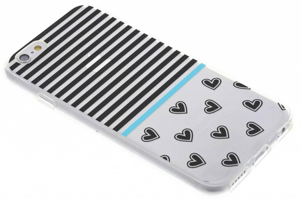 Streep design TPU siliconen hoesje voor de iPhone 6 / 6s