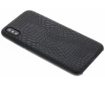 Zwart slangen TPU case iPhone X