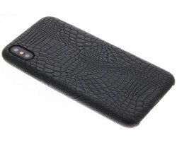 Zwart slangen TPU case iPhone X