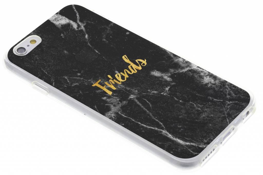 BFF Black Marble Love TPU hoesje voor de iPhone 6 / 6s
