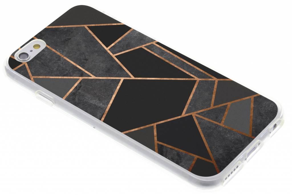 Zwart Grafisch design TPU hoesje voor de iPhone 6 / 6s