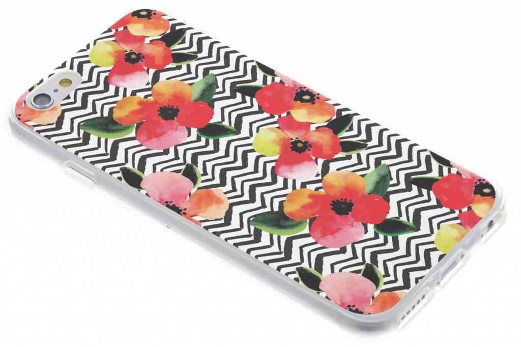 Bloemen TPU hoesje voor de iPhone 6 / 6s