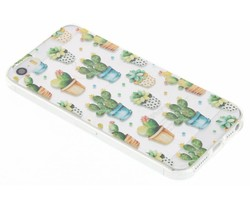 Cactus design TPU hoesje iPhone 5 / 5s / SE