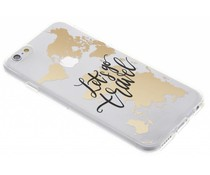 Quote design TPU hoesje iPhone 6 / 6s