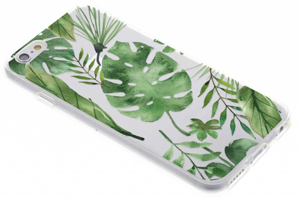 Monstera design TPU hoesje voor de iPhone 6 / 6s