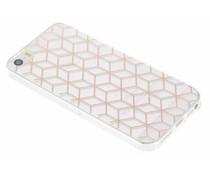 Cubes design TPU hoesje iPhone 5 / 5s / SE