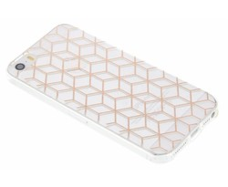 Cubes design TPU hoesje iPhone 5 / 5s / SE