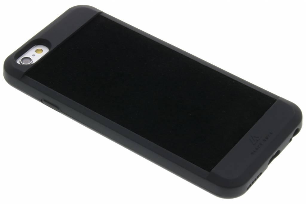 Black Rock Suede Case voor de iPhone 6 / 6s - Zwart