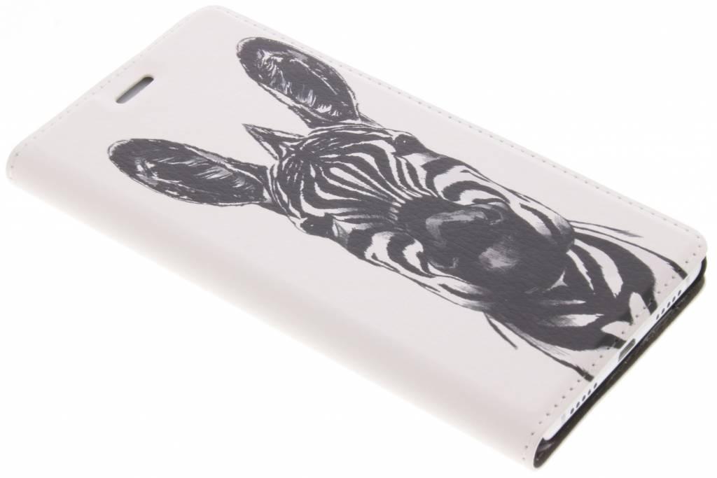 Zebra Design Booklet voor de Huawei P9 Lite