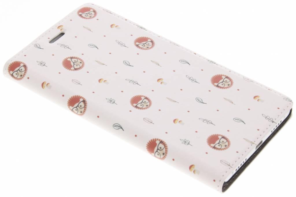 Egel Dieren Design Booklet voor de Huawei P9 Lite