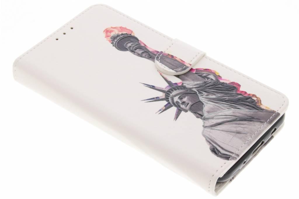 Plumes Conception Booktype Cas De Tpu Pour Samsung Galaxy J7 (2017) D1139xbSW